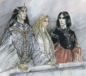 Turgon Idril and Maeglin