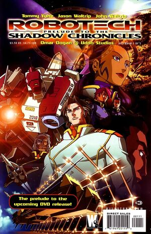 Cover for Robotech: Prelude to the Shadow Chronicles #1