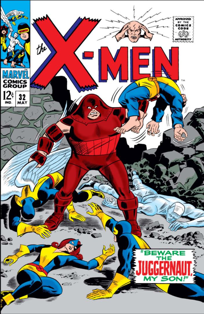 Man 32 Indicted In Alleged Misconduct With 14 Year Old: X-Men #32 (1967, May)