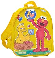 Elmo big bird backpack