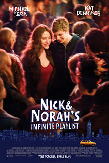 Nick and norah s infinite playlist movie poster
