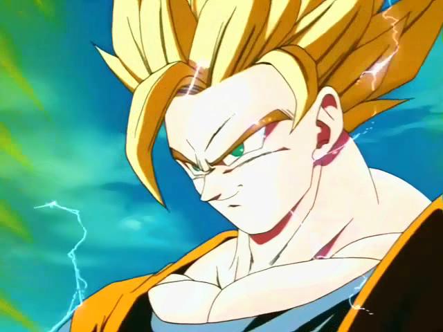 Super saiyan 2 dragon ball wiki - Sangoku super sayen 2 ...
