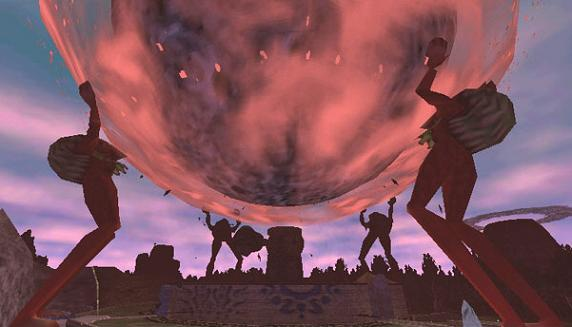 Majoras Mask Moon Giants Four Giants - T...
