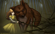 Renesmee and Jacob by Juhani