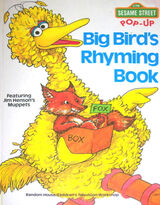 Big Bird's Rhyming Book