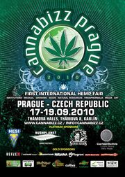 Prague 2010 Sept 17 Cannabizz Hemp Fair