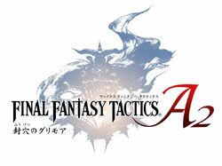 Official logo for Final Fantasy Tactics A2: Grimoire of the Rift
