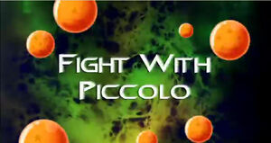 Fight with Piccolo