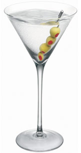 Dirty-martini