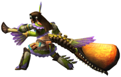 liste des armes de monster hunter tri 250px-MHP3rd_HuntingHorn