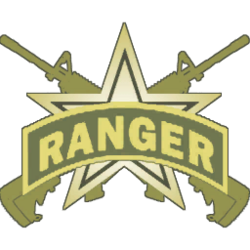 The Ranger's emblem in MW2's multiplayer.
