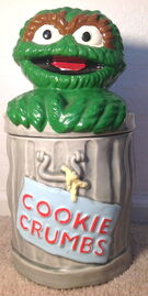 Demand marketing oscar cookie jar
