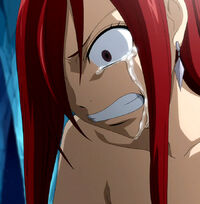 Erza&#39;s sorrow