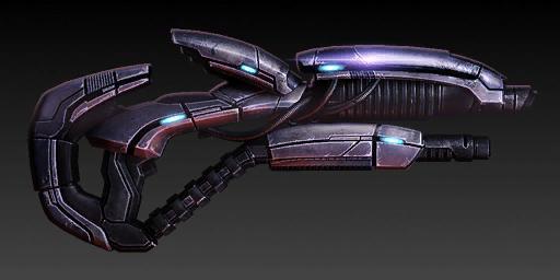 Оружие в Mass Effect 2 Geth_Shotgun_ME2