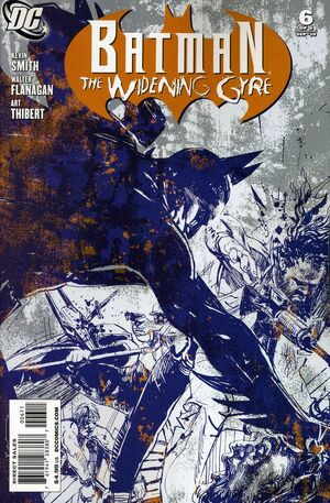 Cover for Batman: Widening Gyre #6