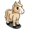 Cream Mini Horse-icon
