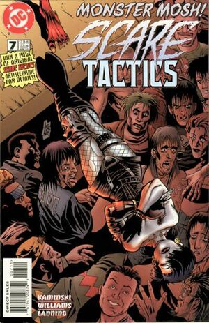 Cover for Scare Tactics #7