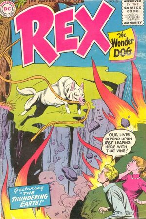 Cover for Adventures of Rex the Wonder Dog #20