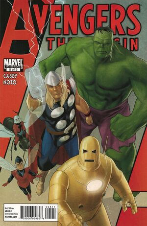 Avengers The Origin Vol 1 5