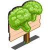 Green Cauliflower Mastery Sign-icon
