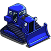 Blue Bulldozer-icon