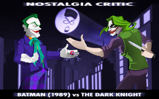 NC Batman vs The Dark Knight by MaroBot