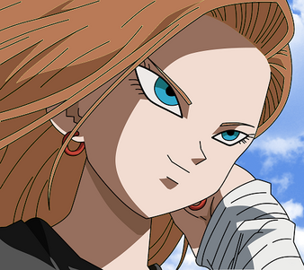 Dragon Ball Z Android 18 by XTi4N