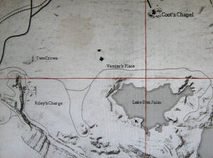 Rdr lake venter's riley's crows map