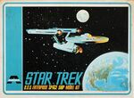 AMT-Aurora Model kit 921 USS Enterprise 1966 variant