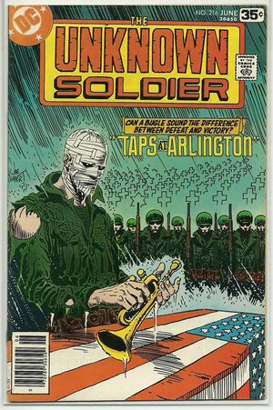 Cover for Unknown Soldier #216