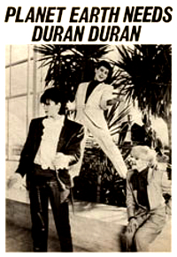 Duran duran 81 advert planet earth