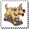 Dog Stamp-icon