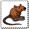 Rat Stamp-icon