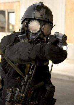 Militant Forces Agent Biohazard Training