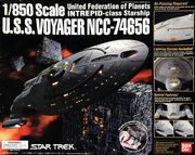 Bandai Model kit 131434 USS Voyager 2004
