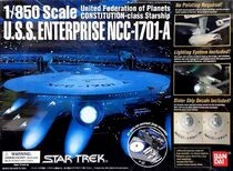 Bandai Model kit 124915 USS Enterprise A 2004