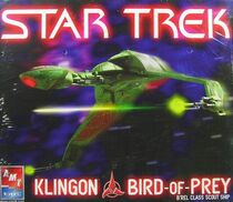 AMT Model kit 38389 Klingon Bird of Prey 2005