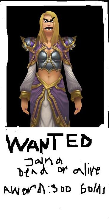 WANTED jaina