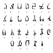 Daedric Alphabet Edit
