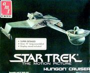 AMT Model kit 6682 Klingon Cruiser 1985