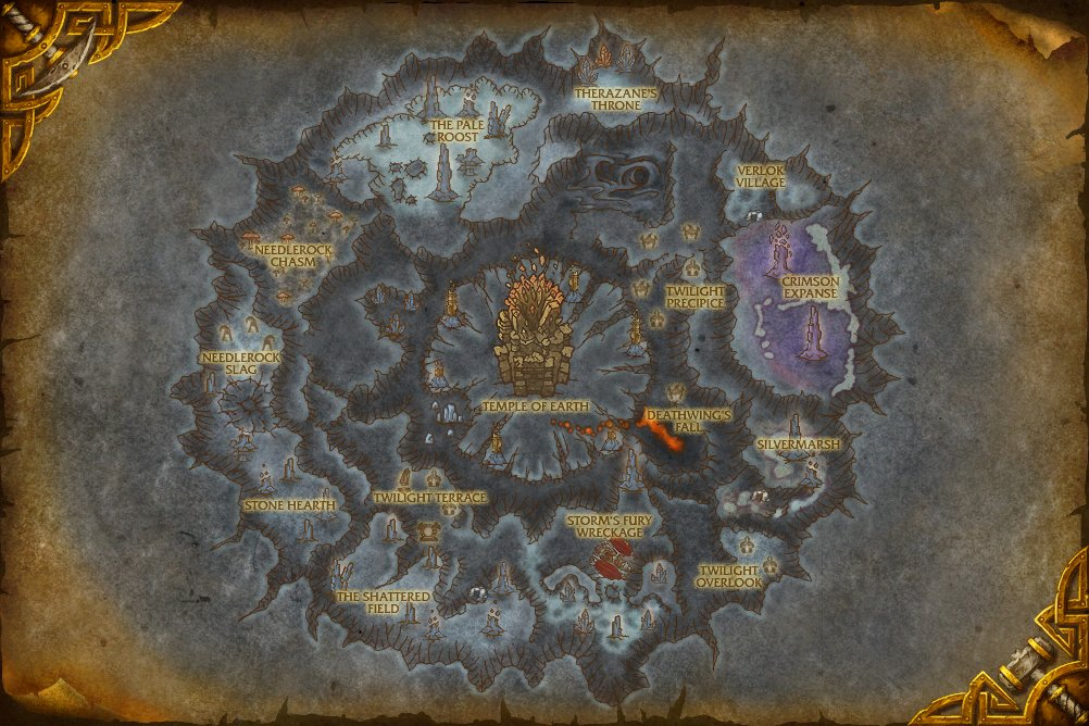 Mount Hyjal or Vashj'ir depending on which starting point you selected.