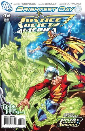Cover for Justice Society of America #42