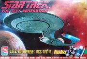 AMT Model kit 8400 USS Enterprise-D 1996