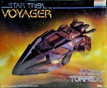 Revell Model Kit 3608 Kazon torpedo 1996