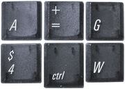 PowerBook Univers keycaps