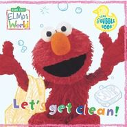 Elmosworldletsgetcleanbathbook