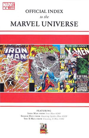 Official Index to the Marvel Universe Vol 1 8