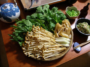 Enoki snack