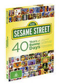 Sesamestreet40yearsofsunnydaysaustraliandvd