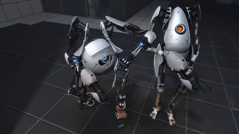 portal 2 atlas robot. portal 2 atlas robot. portal
